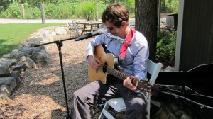 Microphones & Sound Equipment for Ceremony Musicians - Millcreek Barn