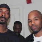 Snoop Dogg & DJ Graffiti backstage at the Royal Oak Music Theatre