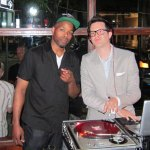 DJ Graffiti & Mayer Hawthorne at the Alley Bar, Ann Arbor
