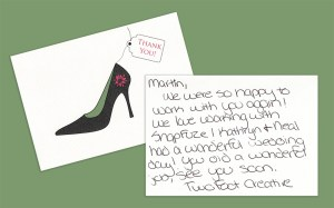 TwoFoot Creative Thank You Card