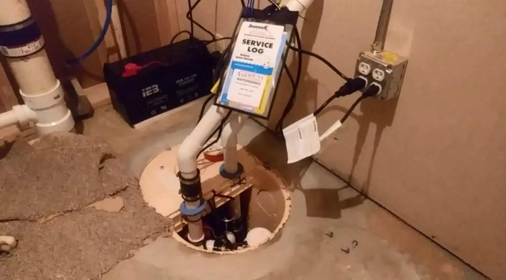 medium resolution of use the sump pump