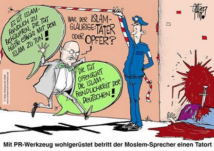 Islam-PR-am-Tatort