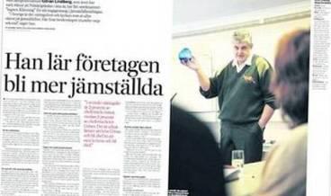 1-Göran Lindberg i Dagens Industri 10 feb 2009