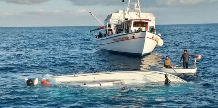 Greece Boats Sink