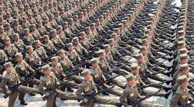 Nordkoreansk marsch
