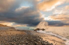 Photo: Lake Michigan shipwreck