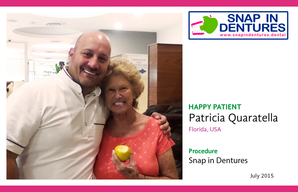 """It's not just the cost, it is the EXCELLENCE"" – Snap in Dentures Happy Patient Review!"