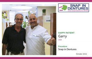Snap in Dentures: Another Happy Patient, meet Garry!