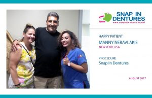 Manny recommends Snap in Dentures