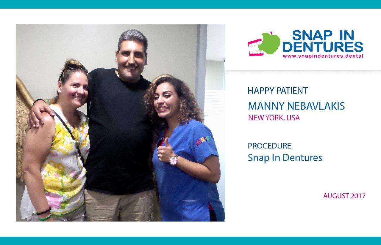 snap in dentures Mexico Appy Pattient
