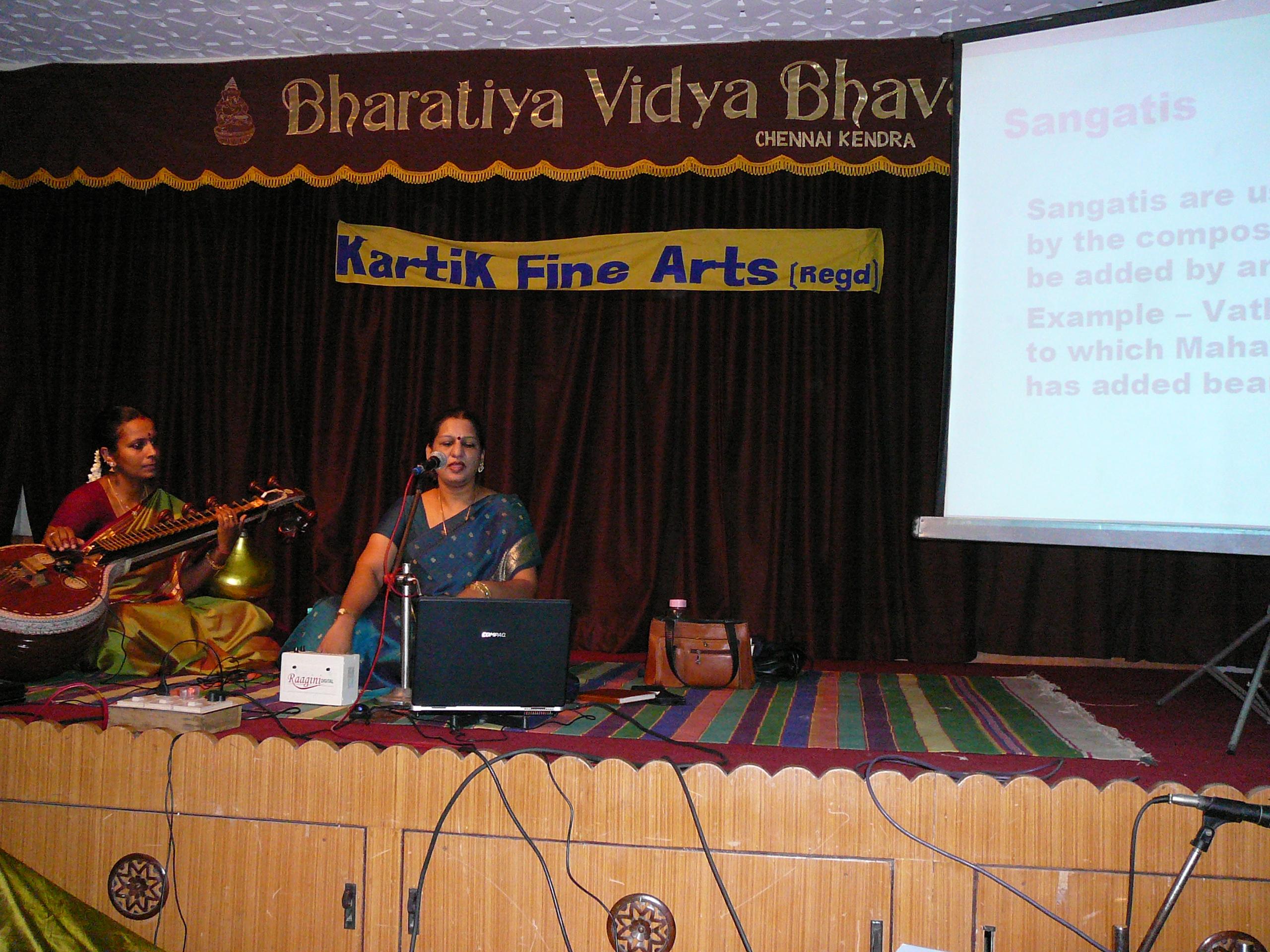 Bharathiya-vidya-bhawan-karthik-fine-arts-classical-music-Singers-Carnatic-Classical