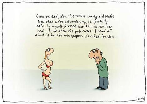 Freedom-Daughters-Dress-Ethics-Morality-cartoon_leunigjpg