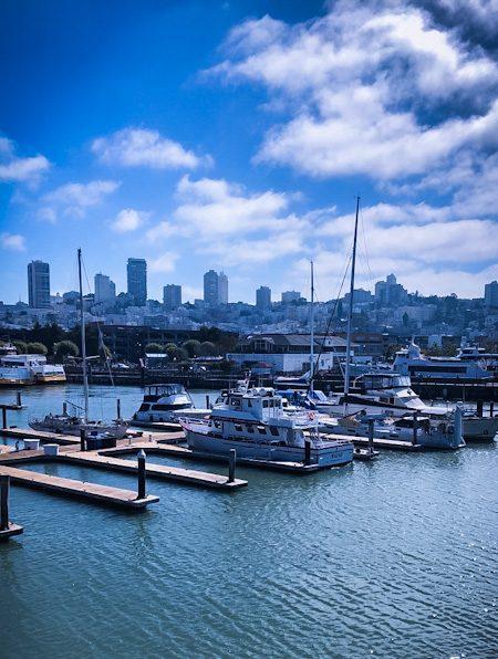 San Francisco Docks with Yachts