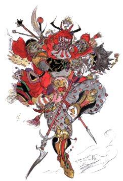 Amano artwork