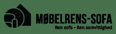Møbelrens - Sofa logo i sort