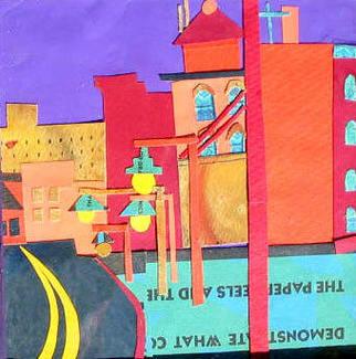 """""""Huntington Avenue"""" / Collage ©Copyright 2015, Debra Bretton Robinson"""