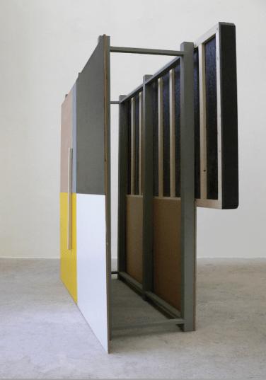 O.T. 2010, MDF, wood, foam, paint, 200 x 45 x 160 cm / O.T. 2010, MDF, peinture, bois, mousse, 200 x 45 x 160 cm