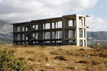 Castles in Spain. 2004, photography, 80 x 120 cm / Les châteaux en Espagne. 2004, photographie, 80 x 120 cm
