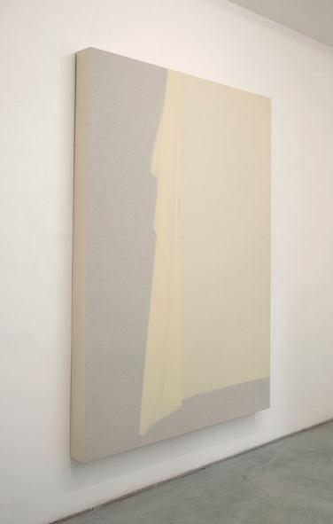 Curtain, bois, toile, tissus, 180 x 153 cm