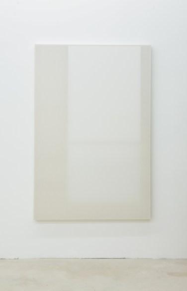 Untitled. 2014, wood, paper, poster, fabric, grid, 120 x 180 cm / Sans titre. 2014, bois, papier, affiche, tissus, grille, 120 x 180 cm