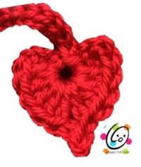 Free Pattern: Dangling Hearts