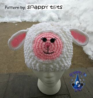 Free Pattern: Petunia Lambikins Hat