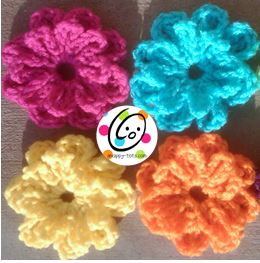Free Pattern: Button on Flower