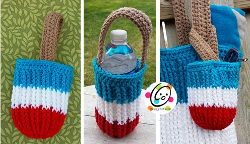 Free Pattern: Popsicle Pocket Bag