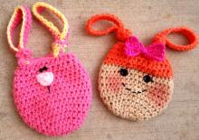 """""""Loopy Treat Bags"""" pattern is on sale til the end of April. Save 40% off with coupon code LOOPY."""