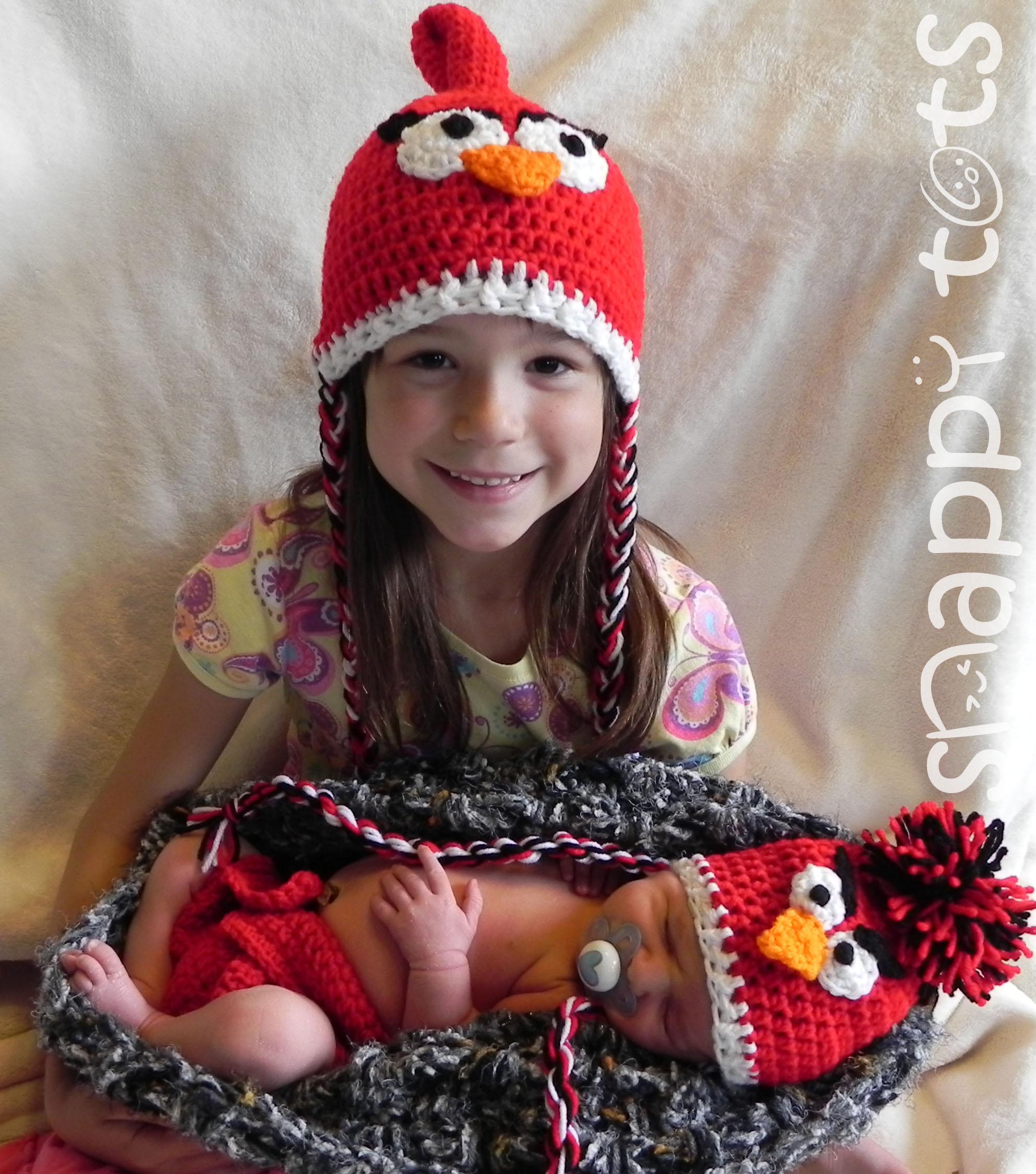 d3fce538c Free Pattern: Baby Bird Set ~ Snappy Tots
