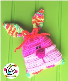 Free Pattern: Bunny Bag
