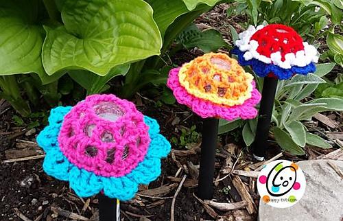 Pattern: Solar Fun Flowers