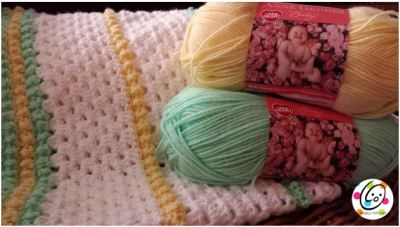 Free Pattern: Granny Style Baby Blanket