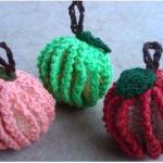 Free Pattern: Fruit Scrubbers