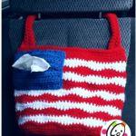 Free Pattern: American Car Tote Bag