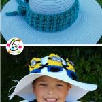Free Pattern: Unique Hatband and Headband