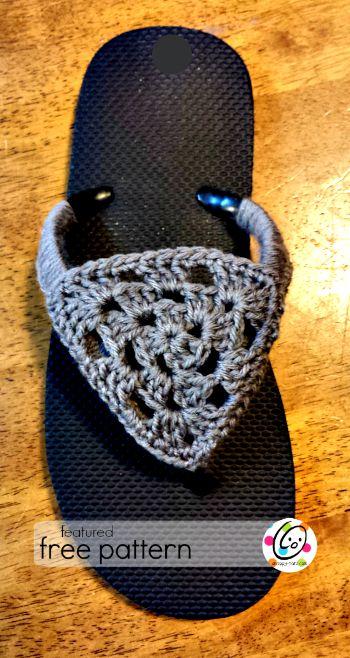 flip flop free crochet pattern