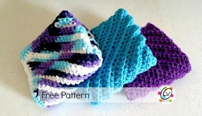 Free Pattern: Nancy's Square Wash Cloth