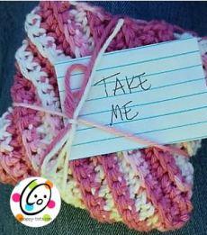 simple crochet wash cloths pattern