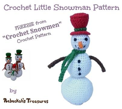 Snowmen crochet patterns.