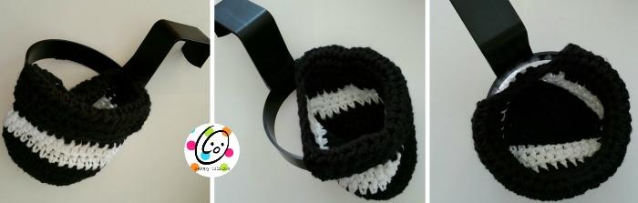 free crochet pattern ~ car caddy