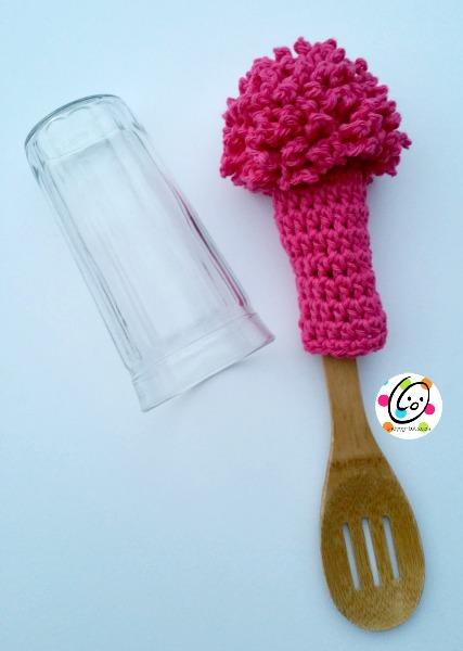 bottle scrubber free crochet pattern