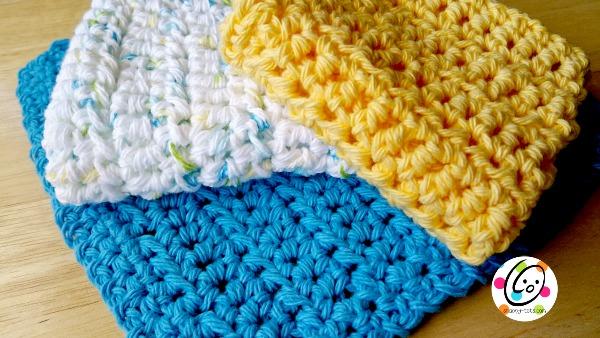 free crochet dish cloth pattern
