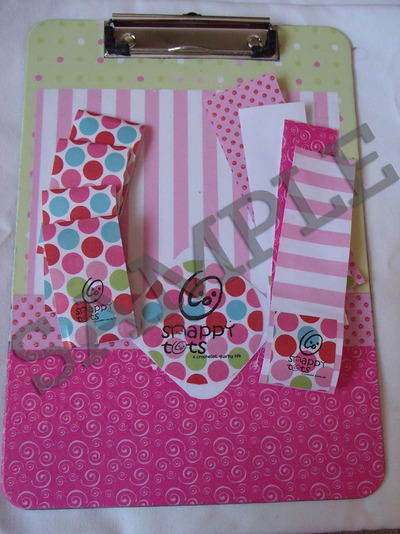 too clippin cute clipboard