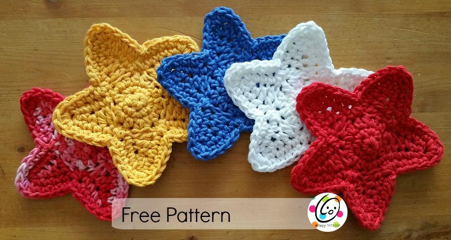 stars free crochet