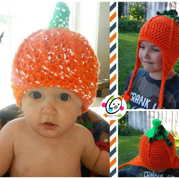Free Pattern: Flashy Pumpkin Beanie