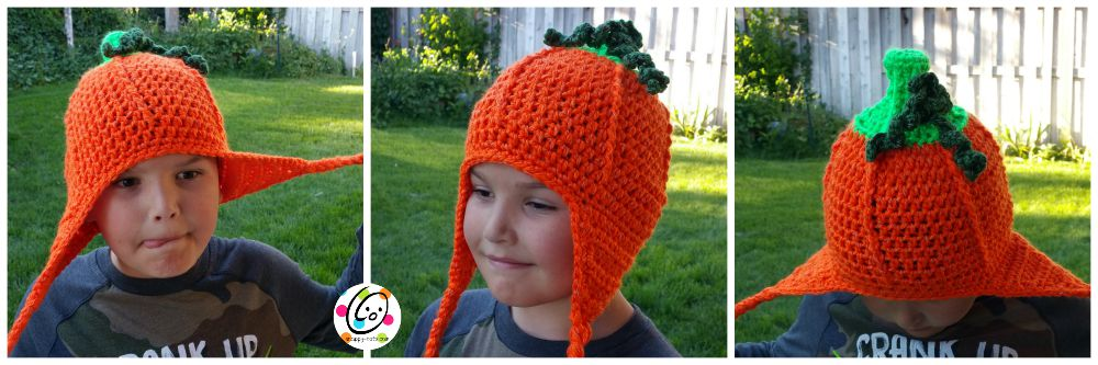 flashy pumpkin crochet pattern