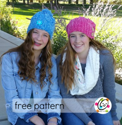 Free Pattern: Velvety Slouch and Scarf
