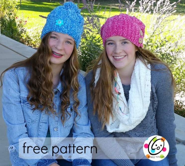 Freebie: Velvety Slouch and Scarf