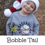 Free Pattern: Bobble Tail Santa Hat